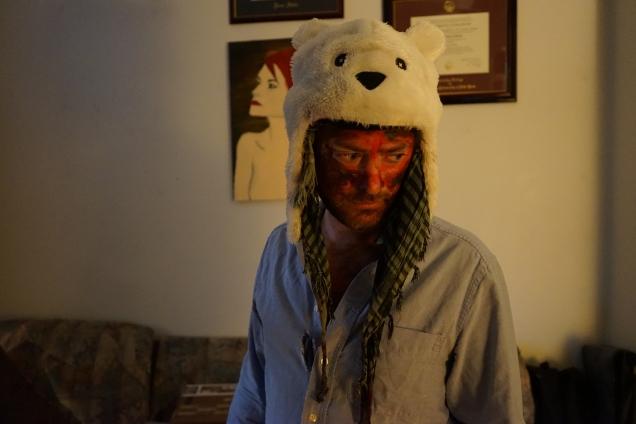 Tim Holland - Buffalo as Polar Bear